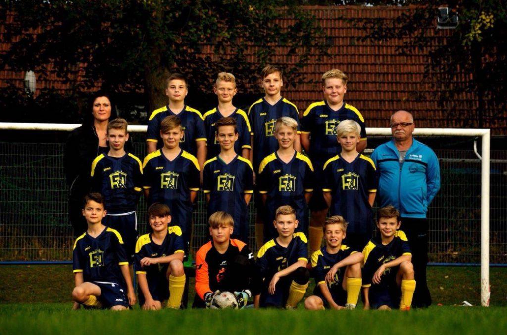 Mannschaftsfoto 17-18 D-Jugend