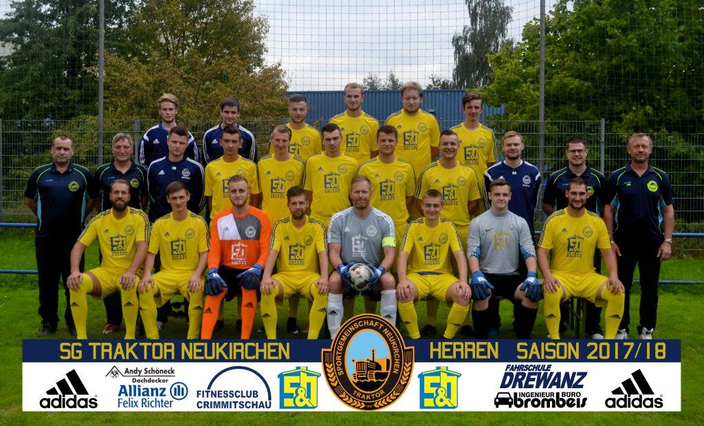Mannschaftsfoto Saison 2017-18