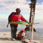 Auf dem Mount Misti (5.811m)