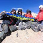 Auf dem Mount Chachani (6.075m)