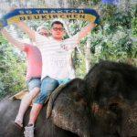 Elefantenreiten in Sri Lanka