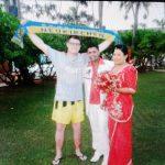 Hochzeitsgast in Sri Lanka