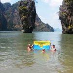 """""""James Bond"""" Felsen, Thailand"""