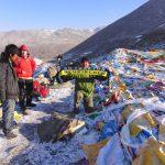 """Drolma La"" Pass auf dem Mount Kailash (5.636m), Tibet"