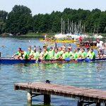 Drachenbootsrennen Schwielochsee bei Jessern