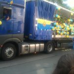 Festumzug Crimmitschau Truck